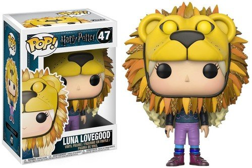 HARRY POTTER Vinyl Figure Luna Lovegood with Lion Head (Funko 14944)