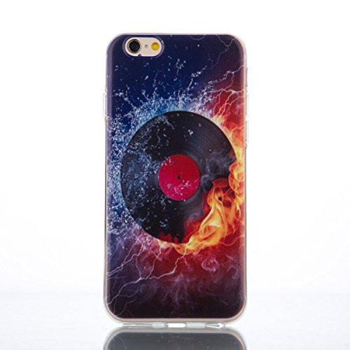 iphone 5s Hülle, iphone 5s Hülle, iPhone 5 Hülle, SainCat Silikon Hülle Tasche Handyhülle [Kratzfeste, Scratch-Resistant] TPU Bumper Case Weiches Gel Cover Schutzhülle Crystal Kirstall Clear Case Durc Eule
