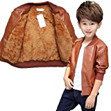 #9: Kids Brown Stylish Jacket