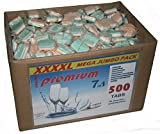 10 kg (ca.500 Stück) Spülmaschinentabs 7 in 1 in wasserlöslicher Folie, BRUCHWARE, deutsche Markenware für jede Spülmaschine geeignet.