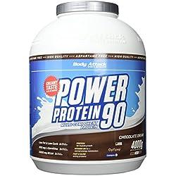 Body Attack Power Protein 90,, Schoko, 4kg Dose