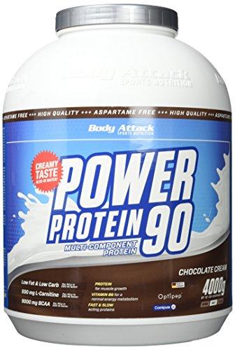Power Protein Cookie (Body Attack Power Protein 90, Schokoladencreme, 4000g)