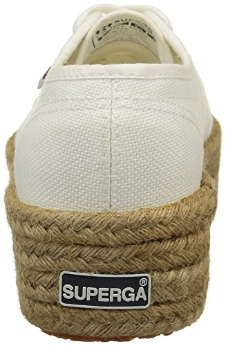 Superga2790 Cotropew - Scarpe da Ginnastica Basse Donna Bianco (Bianco (White))