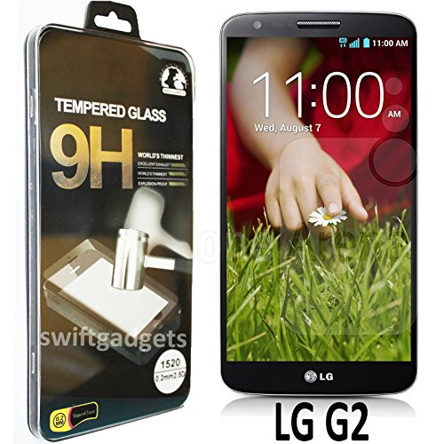 51KAj4Vsm3L BEST BUY #1GENUINE TEMPERED GLASS SCREEN PROTECTOR GUARD FOR LG G2