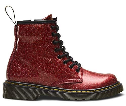 Dr. Martens Mädchen 1460 Glitter J Kurzschaft Stiefel Rot (Red Multi 635) 31 ()