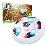 Our-Day Blinkender LED Hover Ball Set für Kinder xfzq01- Best Geschenke für Kinder, White with 2 Gates