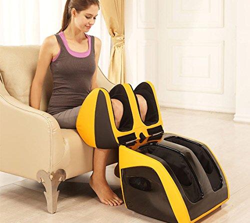 JSB HF111 Leg Foot Massager for Feet Calf Thigh Massage with Foot & Calf Rollers & Knee Heating