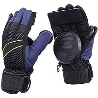Andux Zone Adulte Grip Freeride Slid Gants Roulettes avec Mousse Palm