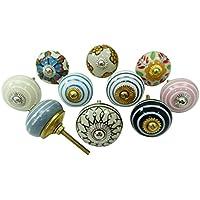 Vintage ceramica cassetto manopole cabinet Hardware manopole decorative Multicolour
