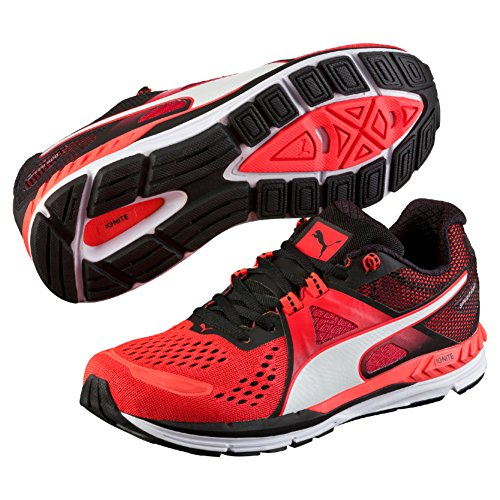 Puma Speed 600 Ignite, Chaussures de Running Compétition Homme Rouge (Red/Black/White 06)