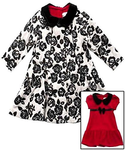 Traumhafter Mantel + Kleid von Rare Editions Gr. 92,98,104,110,116,122 Größe 98 (Editions Rare Kleid Weihnachten)