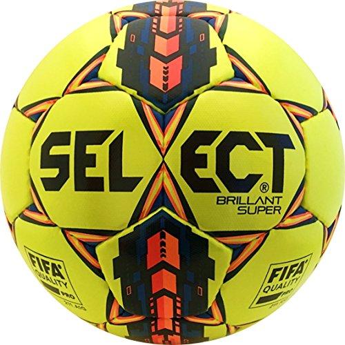 Foto de Seleccione deporte América brillant Super balón de fútbol, color amarillo, tamaño talla 5