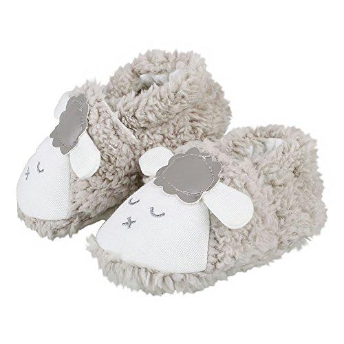 reputable site 308cb 2f22b Itaar Zapatos para Bebé Primeros Pasos para Niños y Niñas Diseño de Oveja  Color de Gris