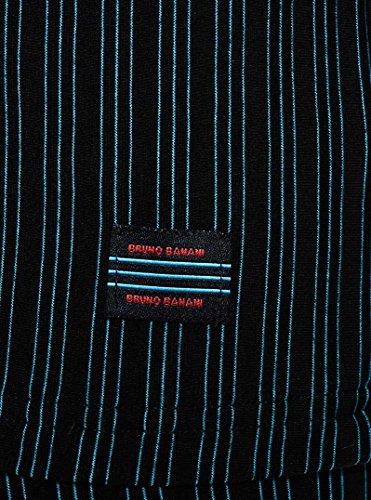 bruno banani, Cage, Shirt, schwarz/türkis stripes schwarz/türkis stripes