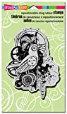 Stampendous Cling Rubber Stamp 4-inch x 6-inch Sheet-Bird - Best Reviews Guide