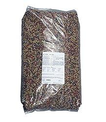AquaForte Hochwertiges Basis Fischfutter, 15 kg (± 40 Liter), Medium Pellets (6 mm)