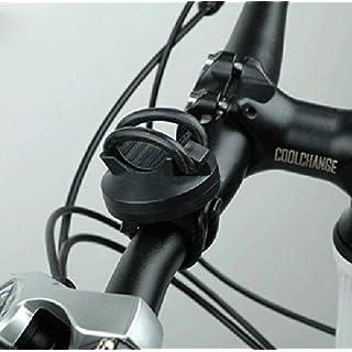 System-S Fahrrad Licht Halterung, schwarz, Befestigung Taschenlampen Halter 360° rotierbar