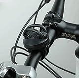 SYSTEM-S Fahrrad-Licht Halterung Befestigung Taschenlampen Halter 360° rotierbar