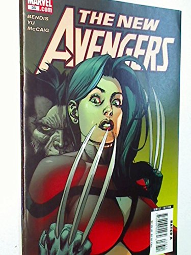 The New Avengers 36 The Trust Part 5 ,Jan 2008 , US Marvel Comic-Heft , Direct Edition, 759606055470