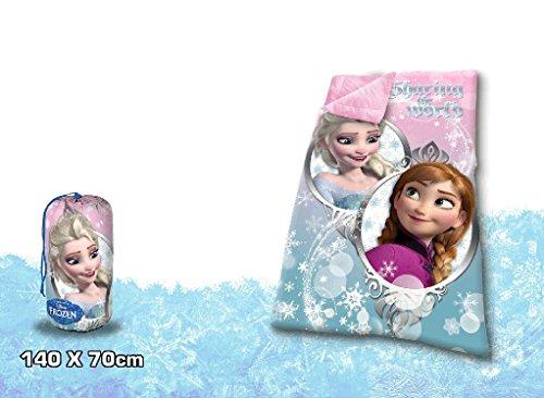 Frozen Disney - Sacco a Pelo Bambina 70x140 - Prodotto Originale
