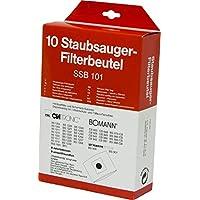 Bomann Staubsaugerbeutel-Set 12-teilig Staubbeutel für CB 957
