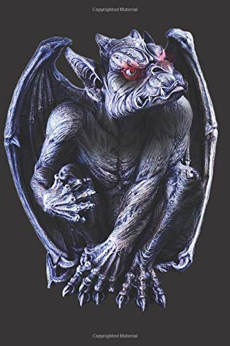 Gargoyle Statue: Blank Lined Notebook, Journal or Diary