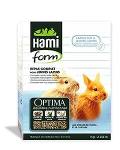 Repas spécial pour Lapin toy et jeune Lapin, 0.900 kg. - HAMIFORM