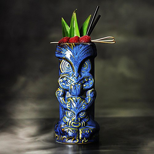 Duece-Tiki-tazas-de-16-oz450-ml--cermica-hawaiano-cctel-taza