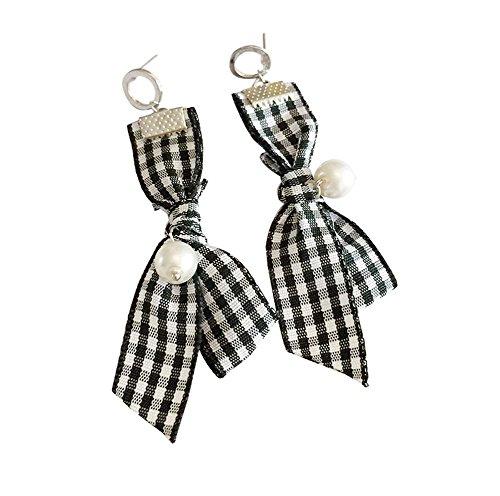 Boucles d'oreilles Easy Matching Boucles d'oreilles Fashion Accessories, 1 paire, noir