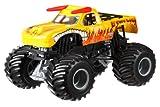 Hot Wheels Monster Jam Fahrzeug El toro Logo - Off Road Collection - Fahrzeuglänge ca 18 cm