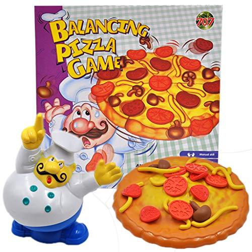 a Spiel Spielzeug Stacking Balancing Spiele Desktop Incline Pizza Balancing Pile Up Spiel für Kinder ()