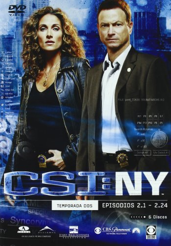 CSI New York (2ª temporada completa) [DVD]