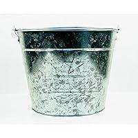 Heineken Beer Bucket, Galvanised Tin with Handle
