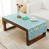 QIANG AF Idyllisch amerikanisches Land frisch tischtuch,Wohnzimmer Tea Tisch tv Schrank tischtuch Stoff-D 70x200cm(28x79inch)