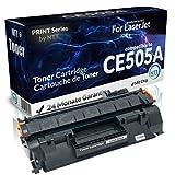 N.T.T.® 1x Kompatibel zu HP CE505A Toner (Black/Schwarz) für HP LaserJet P2030 2033 2034 2035 2036 2037 2050 2053 2054 2055 2056 2057 / Troy 2055 Micr