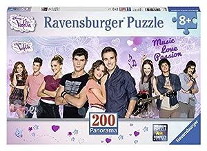 Disney - Panorama Violetta, puzzle de 200 piezas XXL (Ravensburger 12799 3)