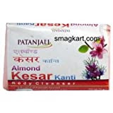 Patanjali Almond Kesar Soap (Pack of 13)