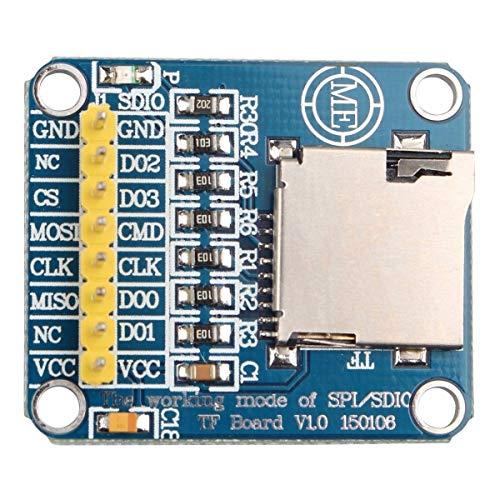 HAPPY-DZ praktischen Modul Control Interface Mikro-SD-Karte TF-Karte Lesen und Schreiben SDIO-SPI-Speicherkarte für Arduino
