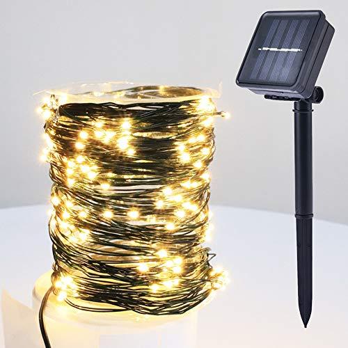 Patio Guirnalda Cable Curvado Arbitrario Solar IP67