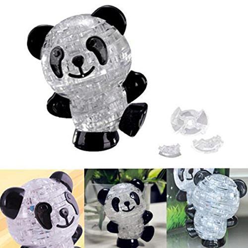Netter Panda 3D Kristallpuzzle DIY IQ Intellectual Spielzeug-Kind-Geschenk-Spiel CJ450
