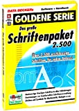Das gro�e Schriftenpaket 2.500 Bild