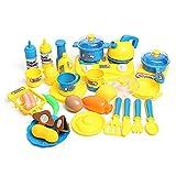 EEvER Personalisiertes lustiges Spielzeug Kochen Spielset, Küche Kochen Spielzeug Tee-Set Besteck Pfannen Kinder Kinder so tun, als entwicklungsspiel Spielen Geschenk