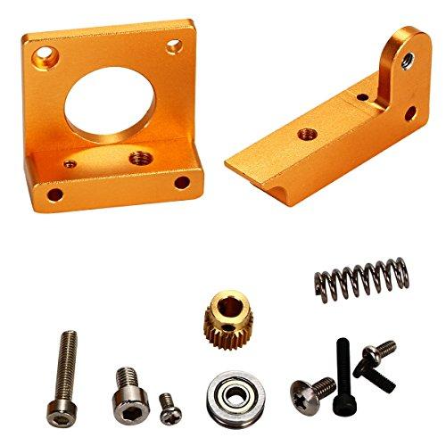 XCSOURCE Stampante 3D MK8 estrusore di alluminio Block Frame Kit fai da te i3 Reprap All Metal BI091