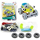 Toys Bhoomi 2 in 1 Build & Play DIY Motorbike Car Buggy Playset - 53 Pieces