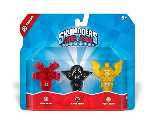 Skylanders Trap Team: Triple Trap Pack: Fire, Kaos, Tech by Activision