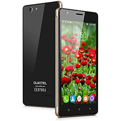 OUKITEL C4 - 4G Smartphone Libre Multitáctil Android 6.0 (Pantalla IPS 5.0
