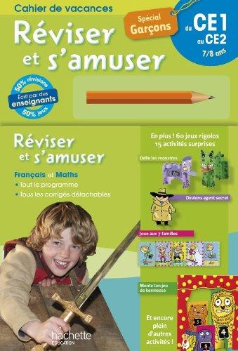 REVISER ET S'AMUSER - Garçons CE1/CE2