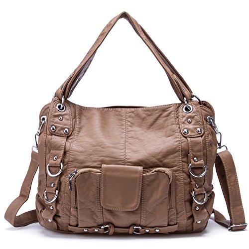 lady-washed-leather-handbag-large-capacity-soft-cross-body-tote-bag-khaki
