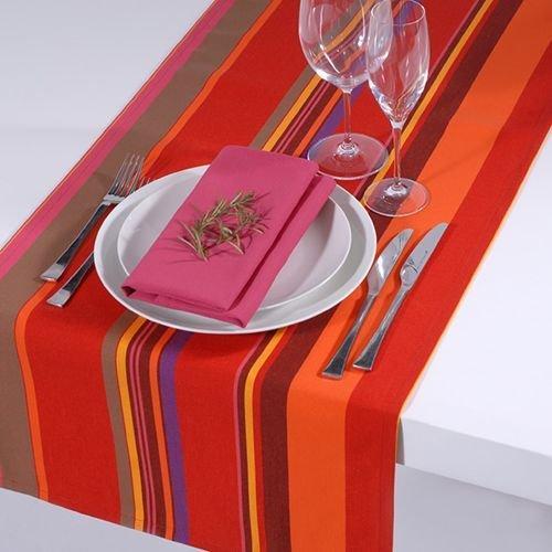 Apart Basic Outdoor Tischläufer Classline Multicolor Rot Wasserabweisend schmutzabweisend lichtecht...