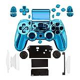 kwmobile Controller Gehäuse für Playstation 4 Controller CUH-ZCT1 Konsole in Blau